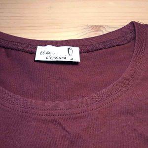 t-shirt femme logo voyage parapente