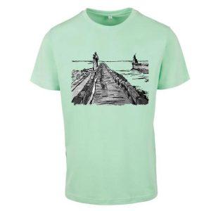 t-shirt homme logo surf parapente