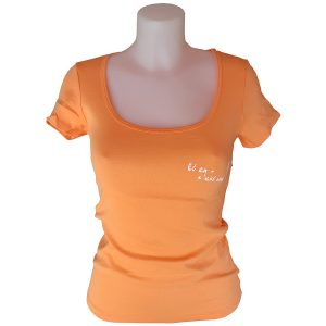 t-shirt femme cintré logo parapente